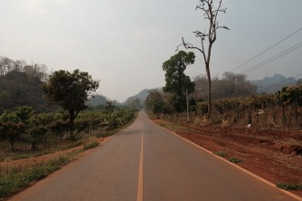 Thai- Burma border road